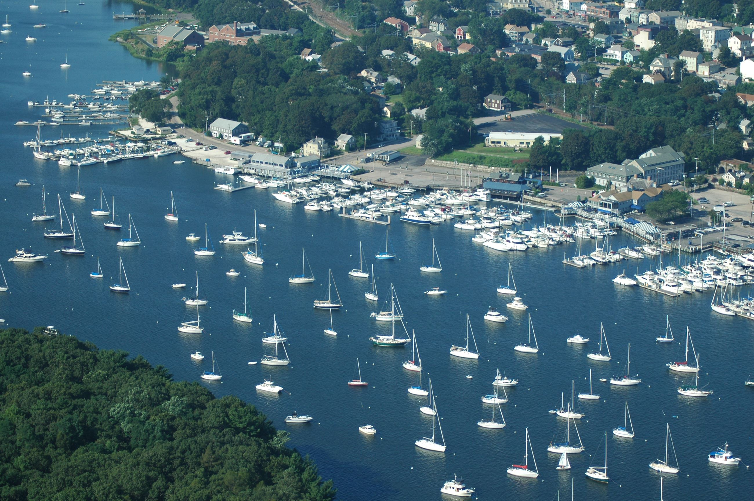 Aerial Image of Greenwich Cove