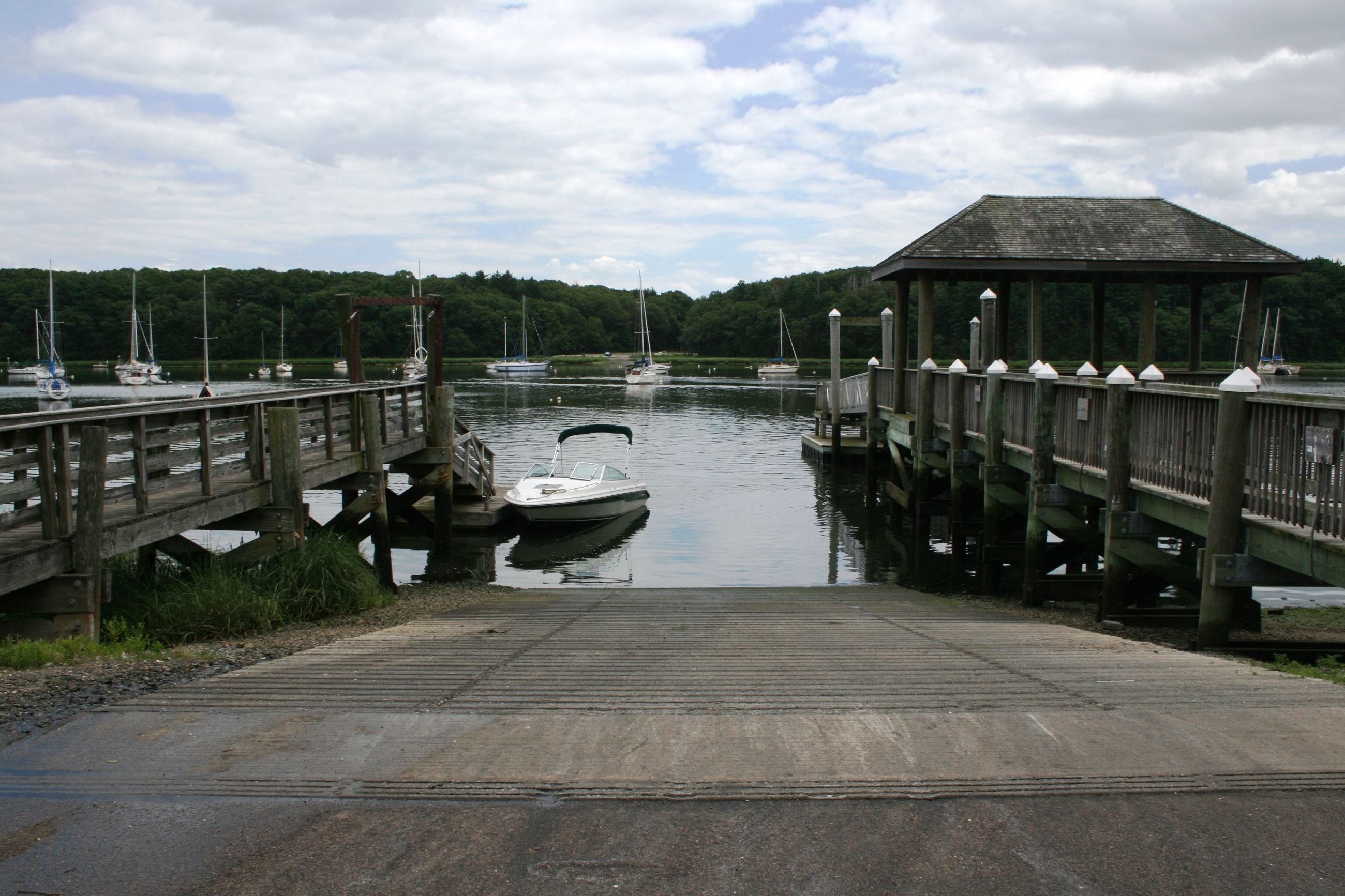 Image of the Town boat ramp