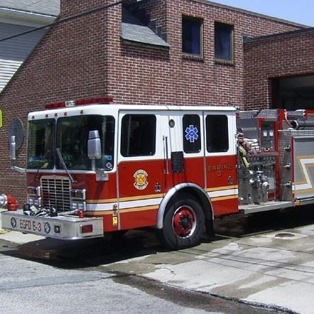 East greenwich fire truck