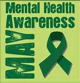 Poster for Mental Health Awareness Month - May