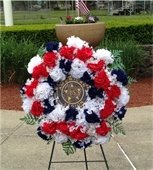 Memorial Day Parade Ceremony Wreath