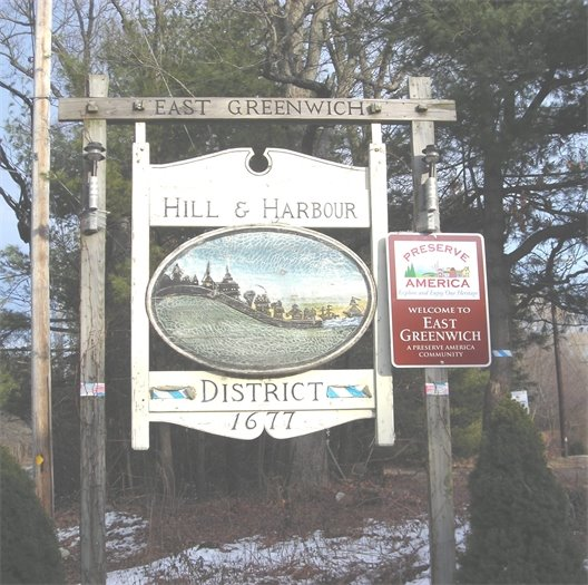 East Greenwich Sign