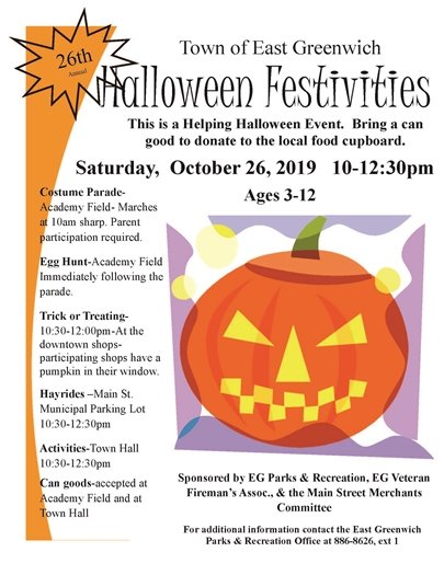 Halloween Festivities October 26 2019