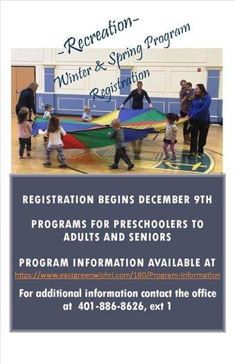 Recreation Winter & Spring Program