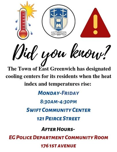 Cooling Center Flyer