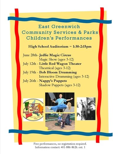 Summer Children's Performance Flyer