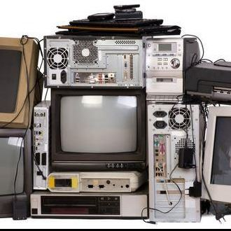 picture of electronic waste